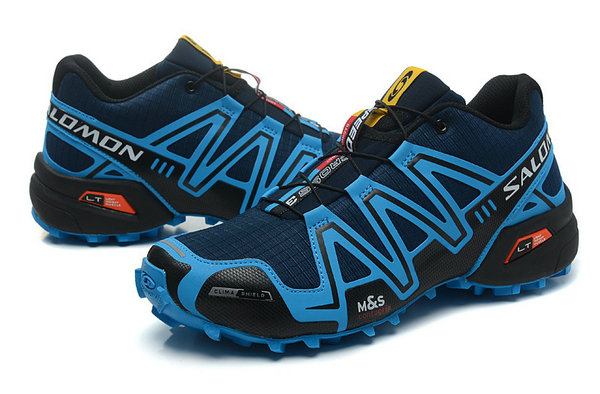 Trail Homme Salomon Speedcross 3 Cs Marine Semelle Bleu