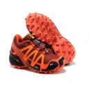 Chaussure Salomon Paris Femme Speedcross 3 Femme Cramoisi Noir Orange