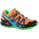 Chaussure Salomon Site Officiel France Speedcross 3 Cs Femme Orange Vert