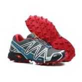 Chaussure Salomon Boutique Paris Speedcross 3 Cs Homme Gris Rouge