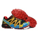Chaussure Salomon Site Francais Speedcross 3 Cs Noir Semelle Rouge