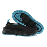 Chaussures Salomon Paris Boutique S-LAB RX 3.0 Moc Noir Cyan