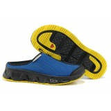 Nouvelle Collection Chaussures Salomon S-LAB RX SLIDE Bleu Jaune