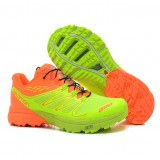 Boutique de Chaussures Salomon S-LAB Sense 3 Homme Orange Cyan