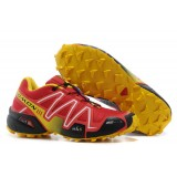 Boutique de Chaussures Salomon Speedcross 3 Femme rouge jaune