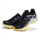 Destockage Chaussures Salomon XT 3D Wings Ultra Noir Jaune