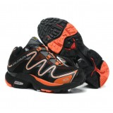 Chaussures Salomon Site Francais XT Hawk Noir Orange Respirant