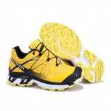 Chaussures Salomon France Magasin XT Wings 3 Jaune Noir Blanc