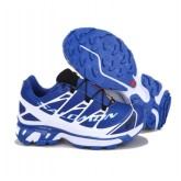 Chaussure Salomon Europe Running S-LAB XT5 Bleu Blanc