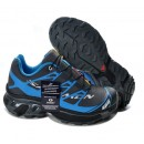 Paris Chaussures Salomon Running S-LAB XT5 Cyan Noir