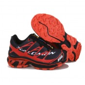Chaussures Salomon Pas Cher Provence Running S-LAB XT5 Noir Cramoisi