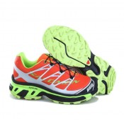 Chaussures Salomon Rabais Paris Running S-LAB XT5 Orange Vert