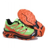 Chaussures Salomon Magasin Paris Running S-LAB XT5 Vert Orange Noir