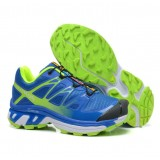 Chaussures Salomon Officiel Running XT 3D Wings Ultra Cyan Bleu