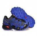 Chaussure Salomon en Promo Running Speedcross 3 Cs Bleu Noir