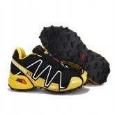 Chaussures Salomon France Magasin Running Speedcross 3 Cs Jaune Noir