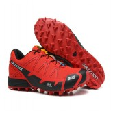 Magasin Chaussures Salomon Paris S-LAB Fellcross 2 Rouge Noir