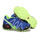 Chaussure Salomon Boutique France Speedcross 3 Bleu Blanc Jaune