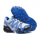 Chaussures Salomon Officiel Speedcross 3 Cs Blacn Bleu