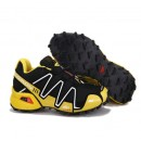 Nouvelle Collection Chaussures Salomon Speedcross 3 Homme Noir Jaune Blanc