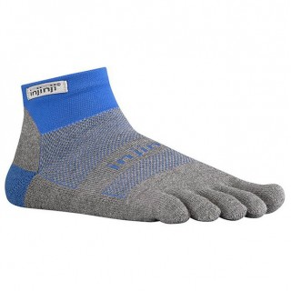 Chaussettes Injinji Run Original Weight Mini-Crew Mariner Bleu Original