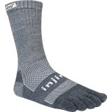 Magasin Chaussettes Injinji Crew Midweight Nuwool Anthracite Paris