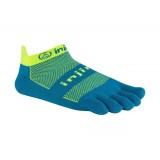 Vente Chaussettes Injinji Run Lightweight No Show Electric Bleu