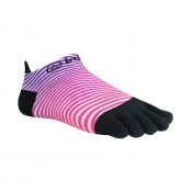 Chaussettes Injinji Run Lightweight No Show Femme Berry Wave- M L Réduction Prix