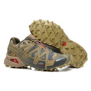 La Collection 2017 Chaussure Salomon Speedcross 3 CS homme Running camo kaki
