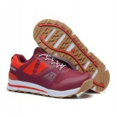 Chaussures Salomon Promos Running Outban Femme Marron Beige