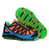La Boutique Officielle Chaussures Salomon Kalalau Homme En Orange Vert Cyan